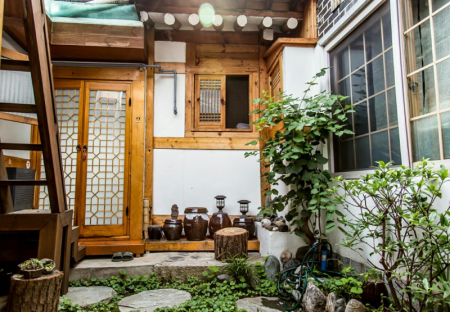 Interior view Yeonwoo Guesthouse