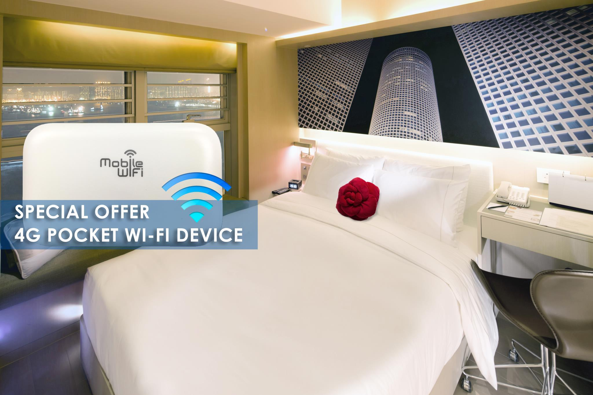 Deluxe Harbour View with 4G Pocket Wi-Fi Device
