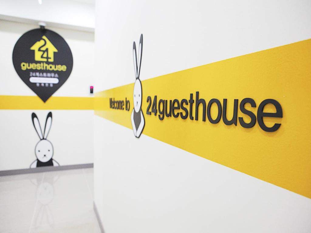 Empfangshalle 24 Guesthouse Myeongdong City