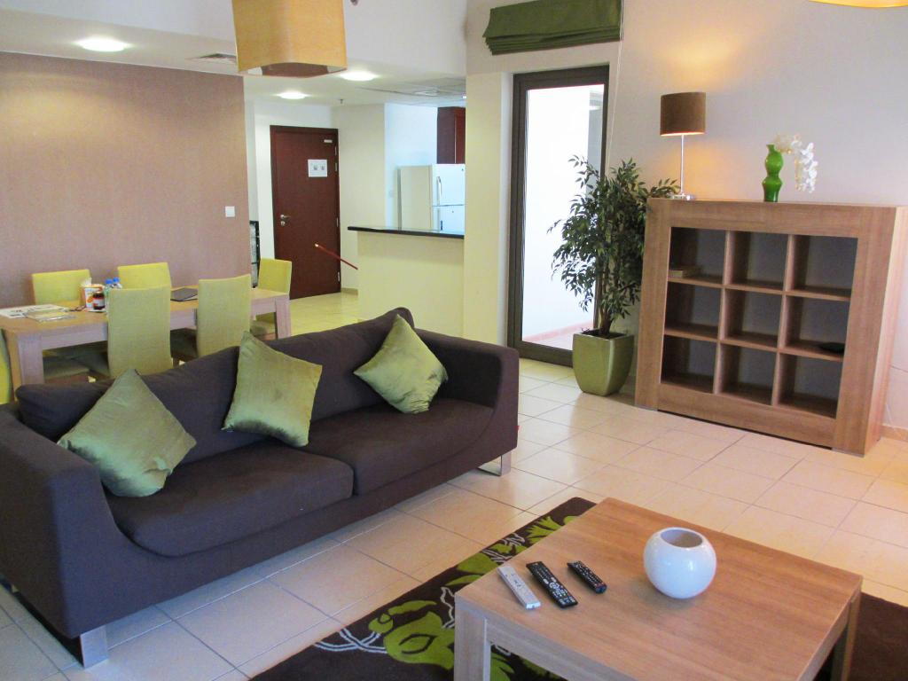 Apartament deluxe z 1 sypialnią - Lounge Dubai Holiday Residence Apartments