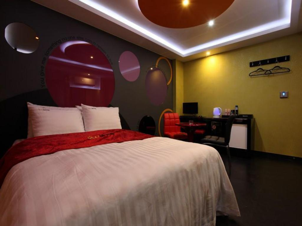Deluxe Double Bed Room Soo Hotel Suyu