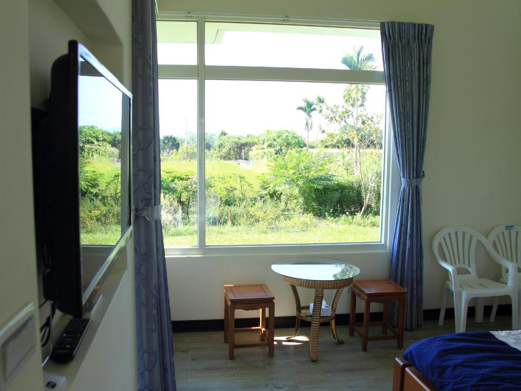 Double - View from inside Meetcanaan HomeStay