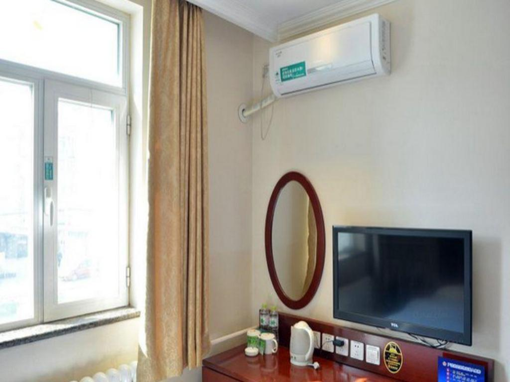 Queen Room - Domestic residents only - Guestroom GreenTree Inn Beijing Daxing Lucheng Express Hotel
