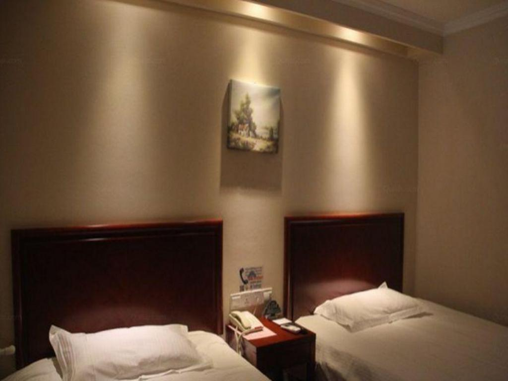 Twin - Domestic residents only - Bed GreenTree Inn Beijing Daxing Lucheng Express Hotel