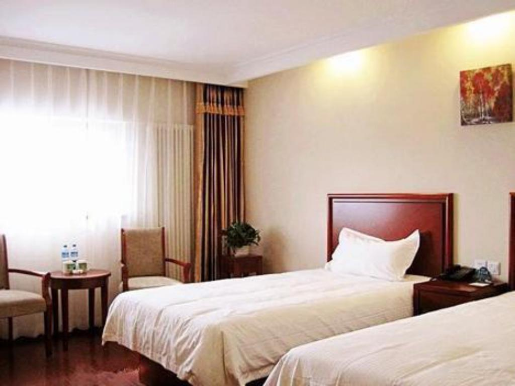 Deluxe Twin - Domestic Residents Only GreenTree Inn Beijing Changping District Changping Subway Station Changping Hospital Express Hotel