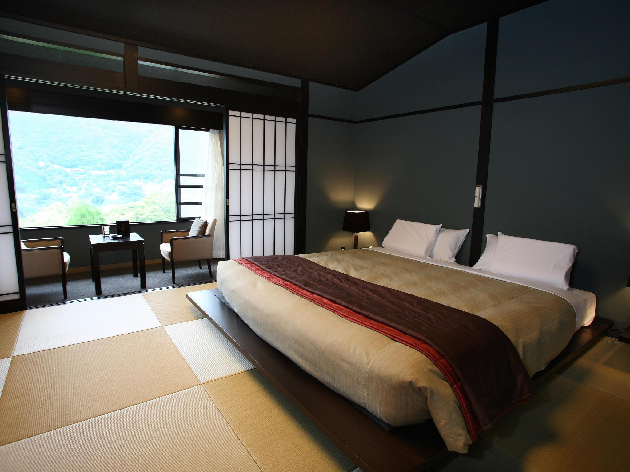 Japanese Style King Bed