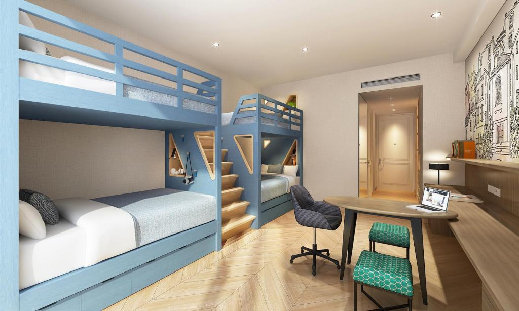 Family Bunk room - Room plan