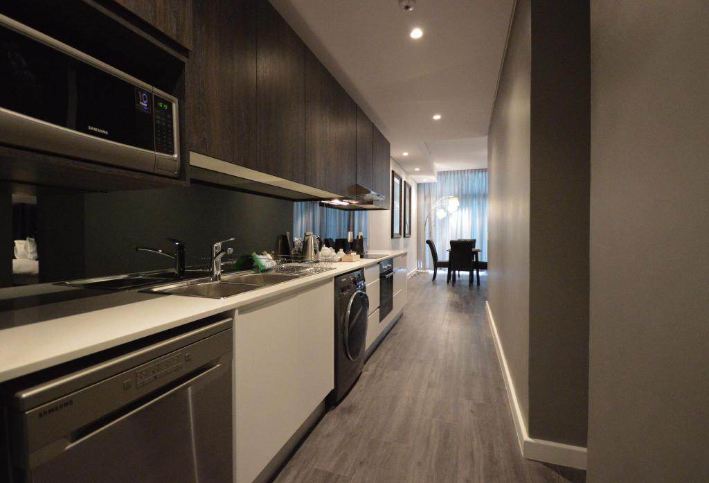 Apartemen Studio Sentinel Building - Dapur Cape Town City Luxury Apartment