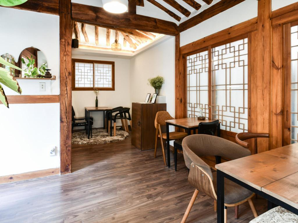 Interijer hotela The Place Seoul Hanok Guesthouse
