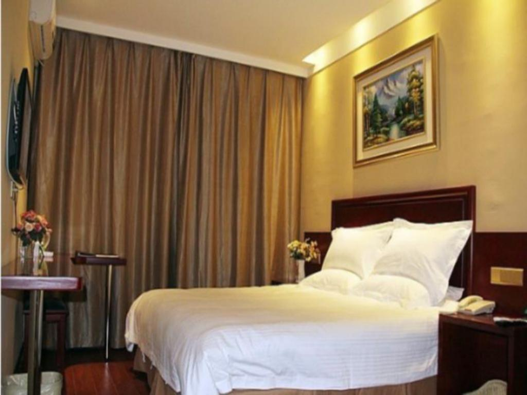 King Room - Domestic residents only - Guestroom Greentree Inn Jinzhong Yuci Huitong Road Shell Hotel