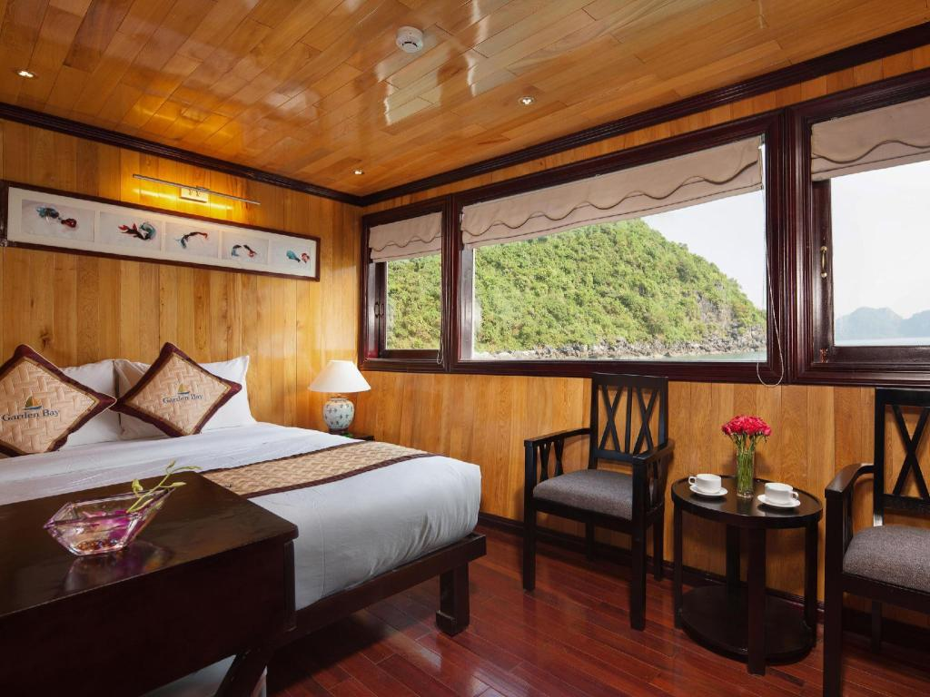 Deluxe Double or Twin Room with Sea View - 2 Days 1 Night - Guestroom Garden Bay Luxury Cruise