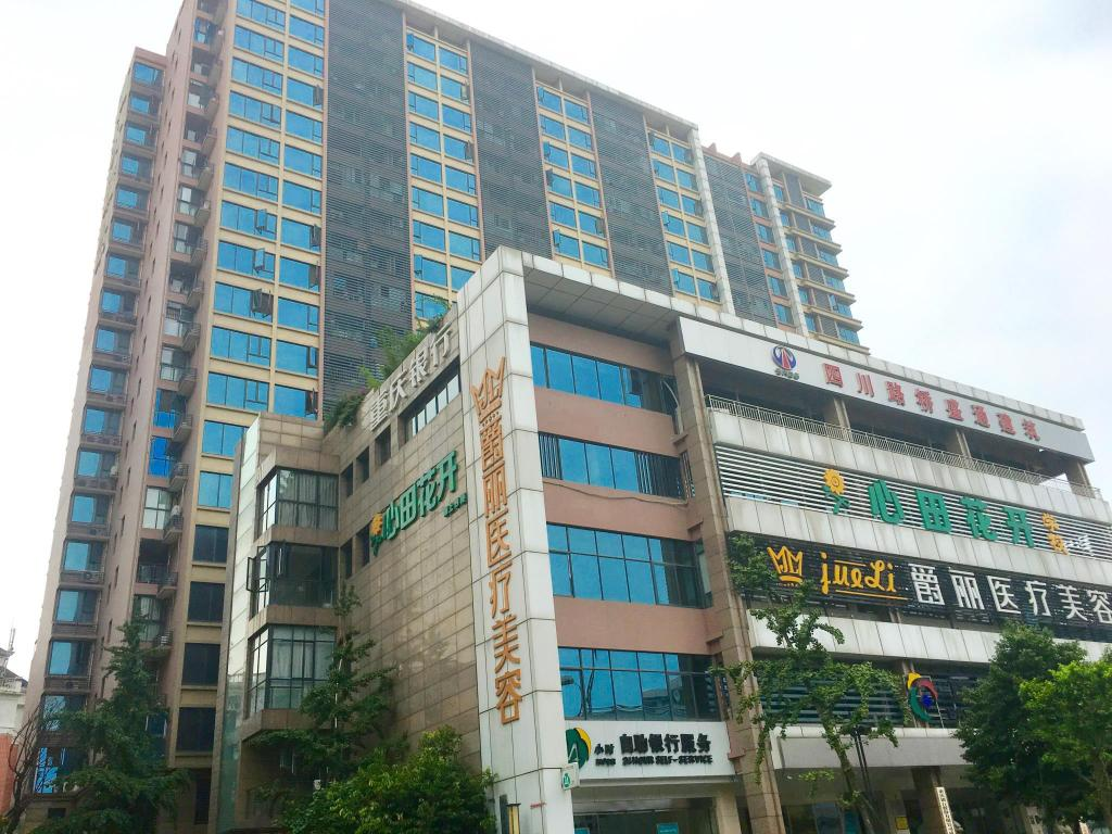 Exterior view Chengdu Joy Family Apartment