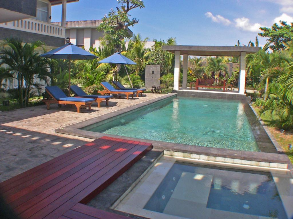 Piscina Villa Beachside