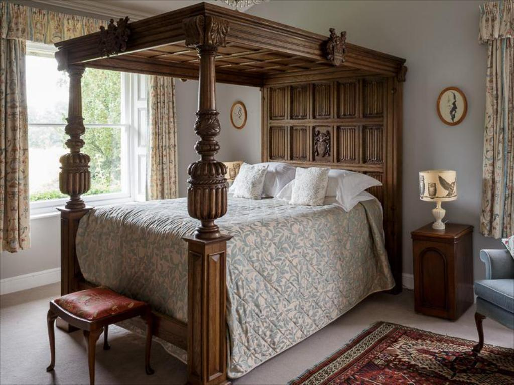 Four Poster Bed Double Room The Old Rectory Country House