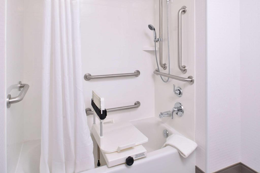 1 King Accessible Tub Non-Smoking - Guestroom Hampton Inn & Suites St. Paul Oakdale