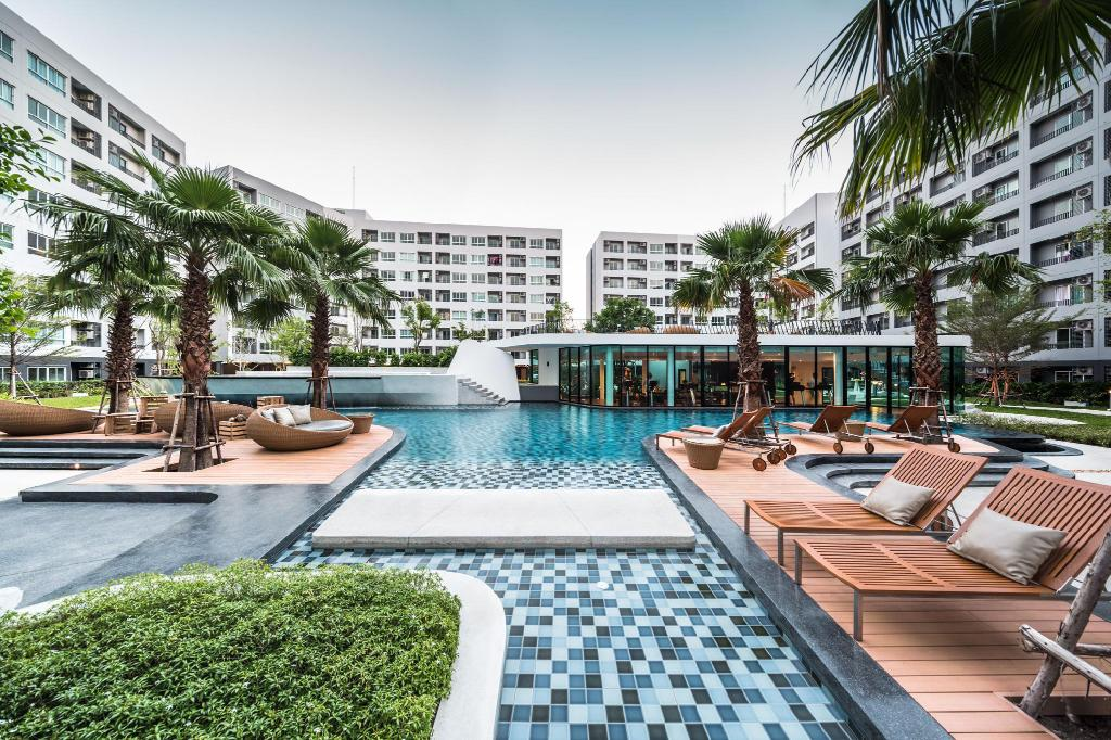 Elio Delray Studio Sukhumvit 64 BTS Pool GYM 02 Bangkok Thailand