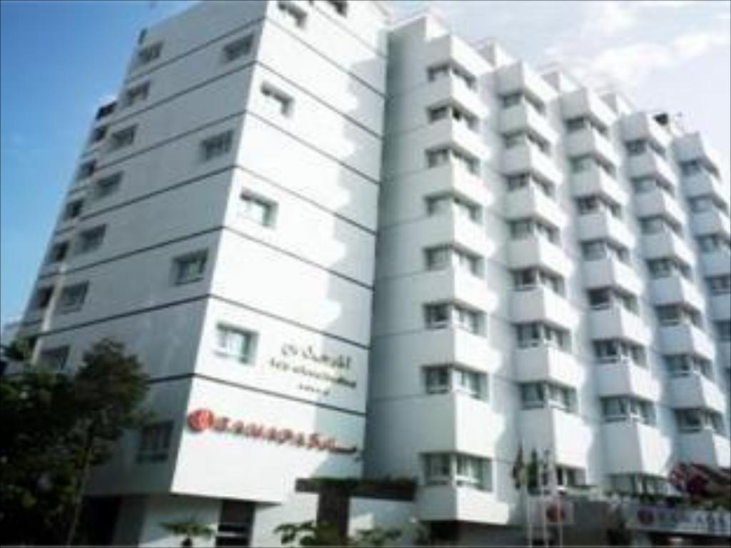 Exterior view Atlas Almohades Casablanca City Center