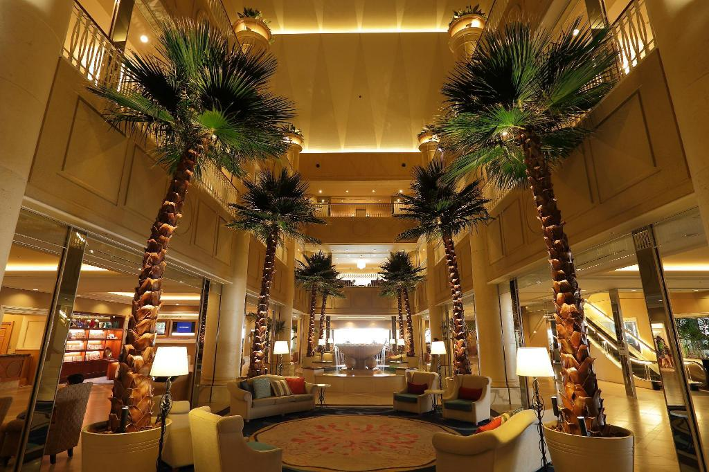 Lobby Kobe Meriken Park Oriental Hotel