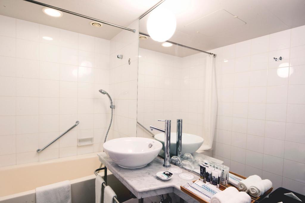 Privilege Room, 2 Twin beds & sofa - Non Smoking - 浴室