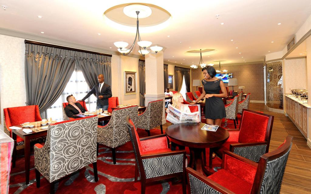 Vista interior Peermont D'oreale Grande at Emperors Palace Johannesburg