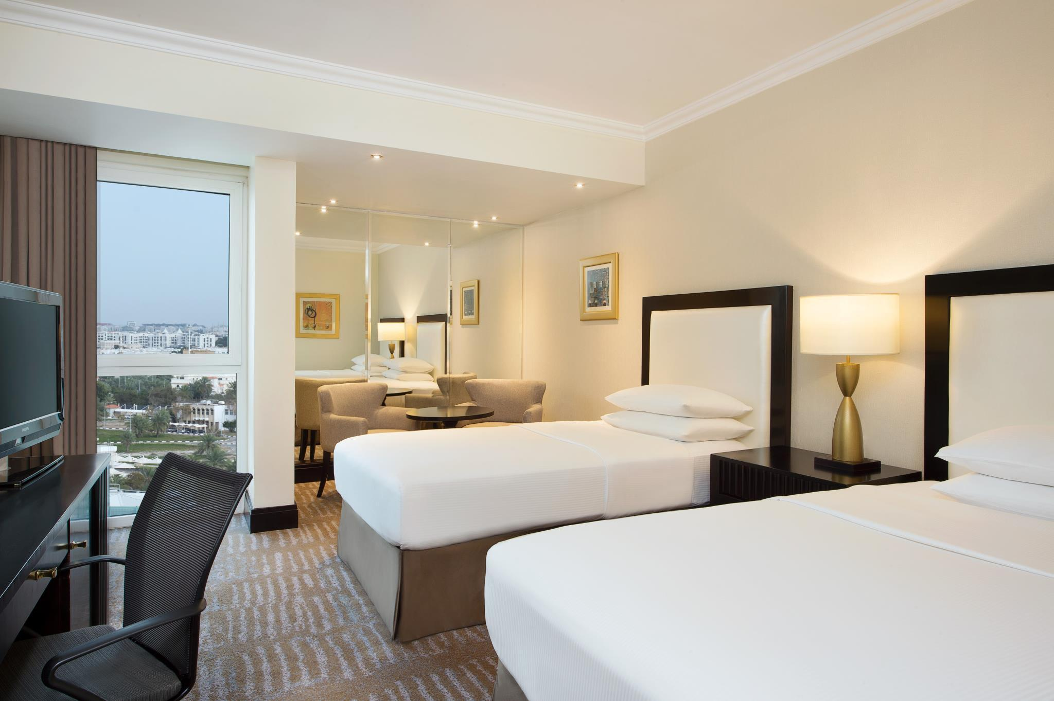 Twin Executive Room City View