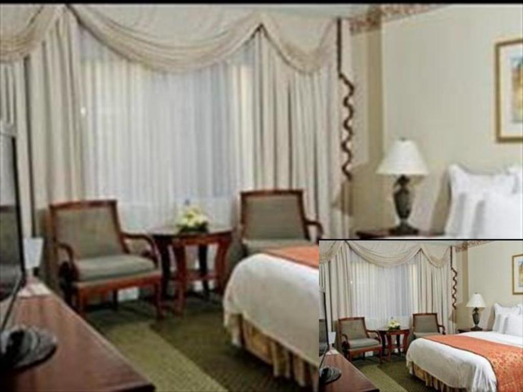 Deluxe Room, Guest room, 1 King or 2 Double - Quarto de hóspedes Jeddah Marriott Hotel