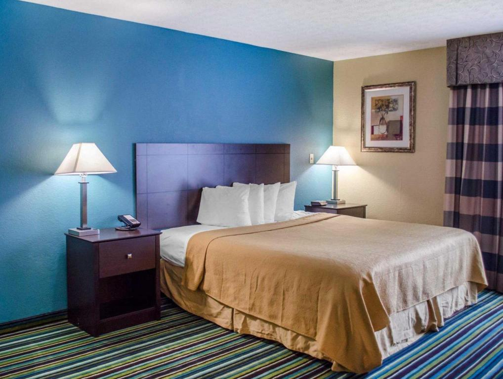 King Room - Non-Smoking Quality Inn and Suites Medina- Akron West