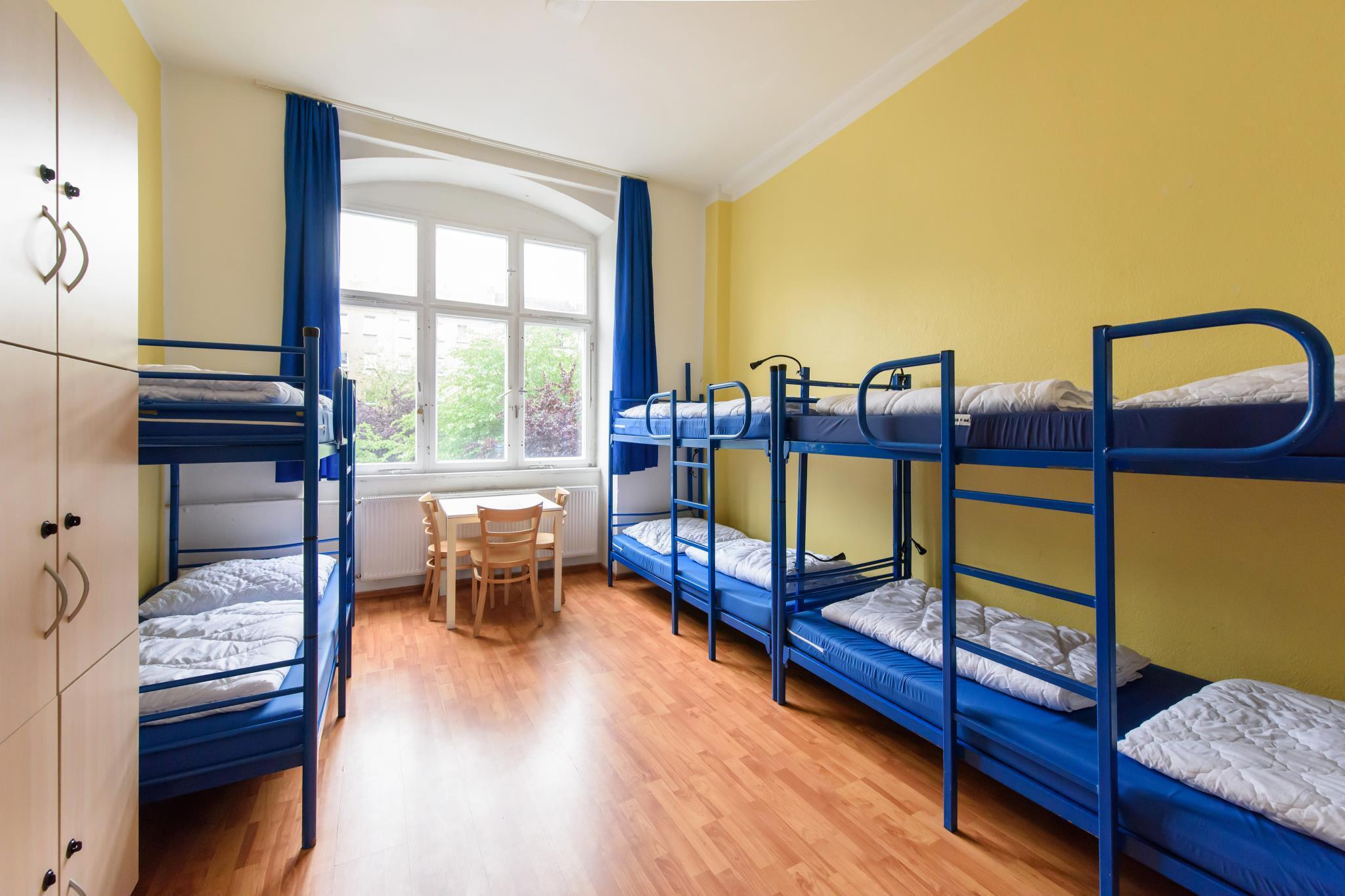 1 seng i 6-sengs sovesal (blandet) (6-Bed Dormitory -- Mixed)