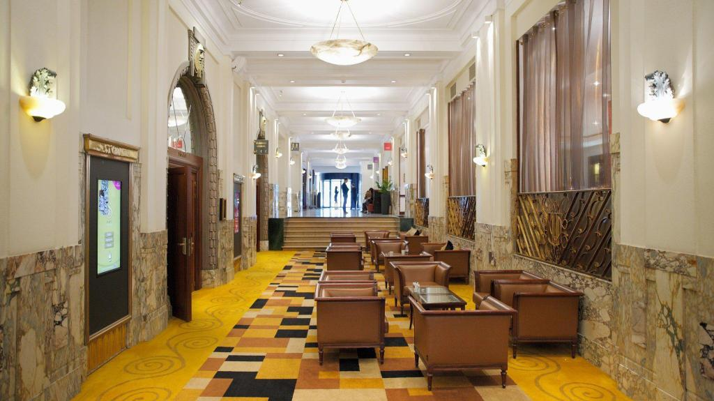 Lobby Hotel Crowne Plaza Brussels - Le Palace