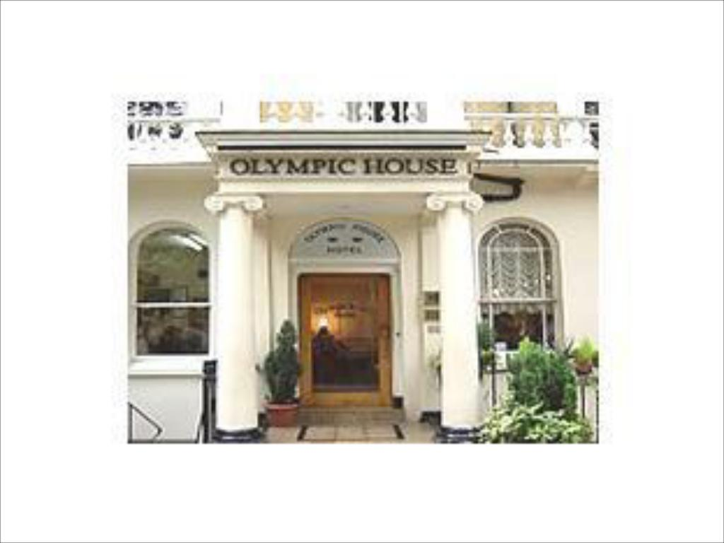 Entrance Olympic House Hotel