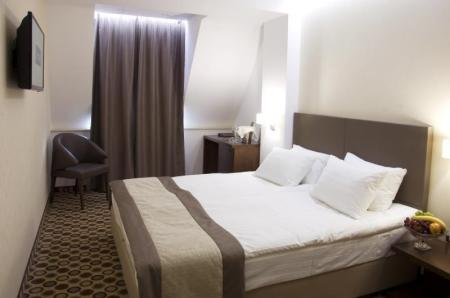 Comfort Double Room - Room plan Central Hotel Sofia