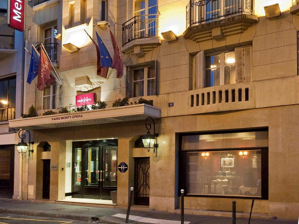 More about Mercure Paris Monty Opera Hotel
