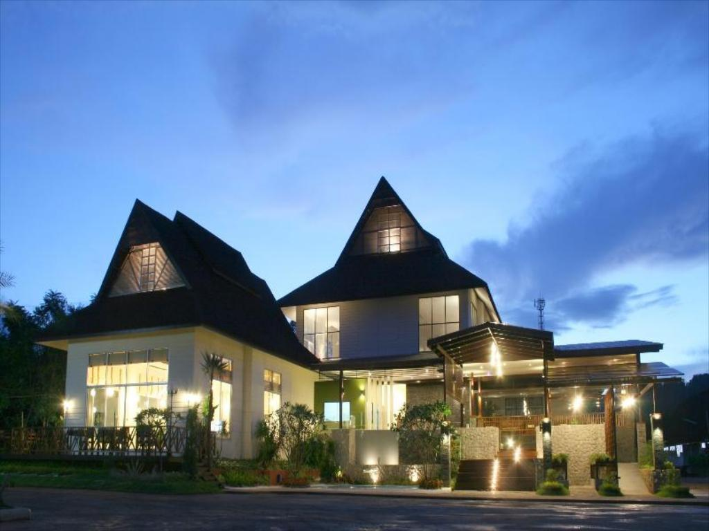 Exterior view Aura Relaxing & Spa Hotel