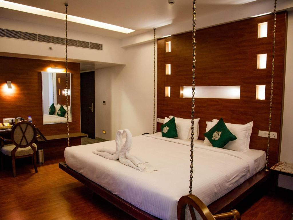 Interior view The Spk Hotel Madurai