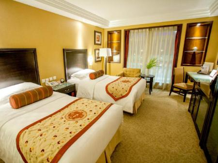 Superior Twin - Room plan Sunworld Dynasty Hotel Beijing Wangfujing