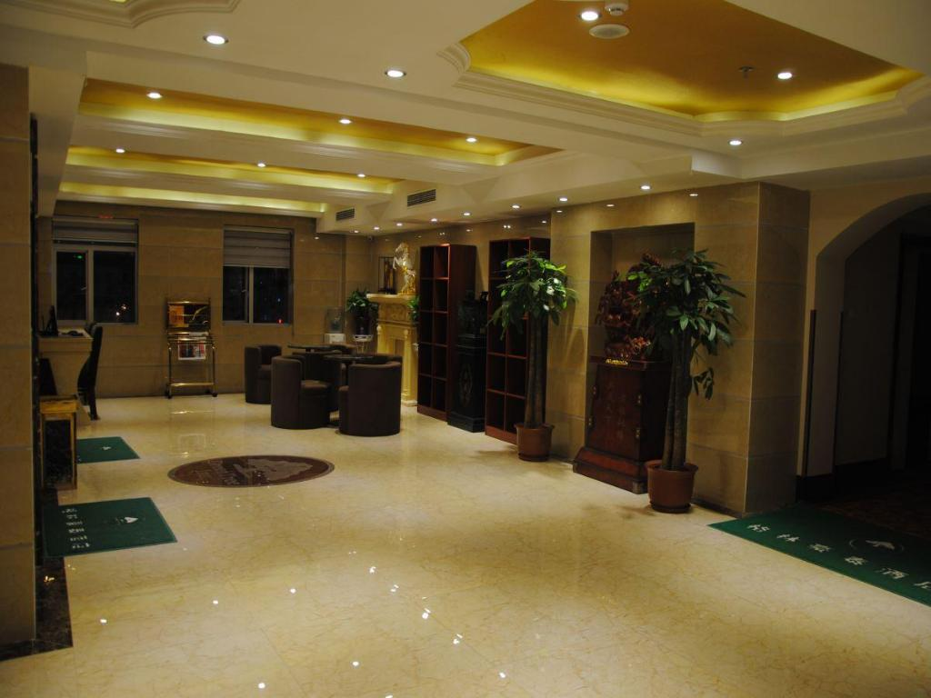 Interior view Greentree Inn Hefei Railway Station Shengli Square Express Hotel