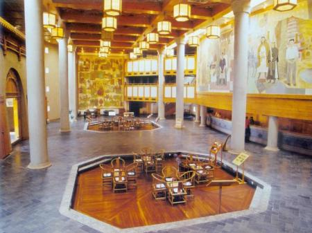 Lobby The Silk Road Dunhuang Hotel