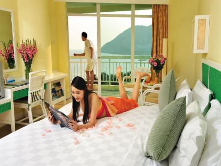 Hotelli interjöör Resort Intime Sanya