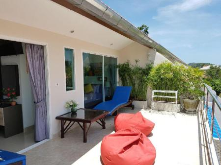 Hotellet från insidan 3-Bedroom Townhouse with private Pool only 70meters from the beach. - 30831067