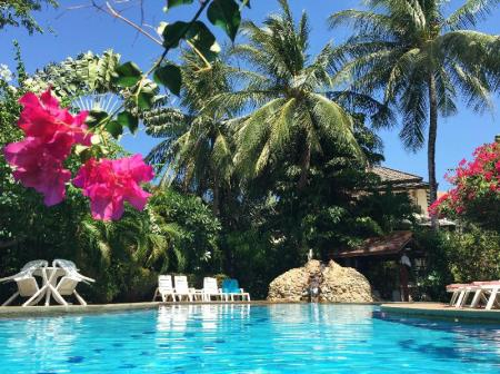 Hotellet från insidan Beachfront Resort 2-Bedroom Villa Palm Only 40 Meters to Beach - 29314549