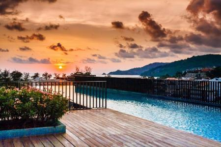 Hotellet från insidan D252 - Patong sea-view apartment with 2 pools, near beach and nightlife! - 14408413