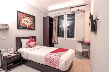 Standard Single Room - Room plan OYO 226 LJ Hotel