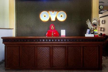 Reception OYO 198 EMDI House Seturan