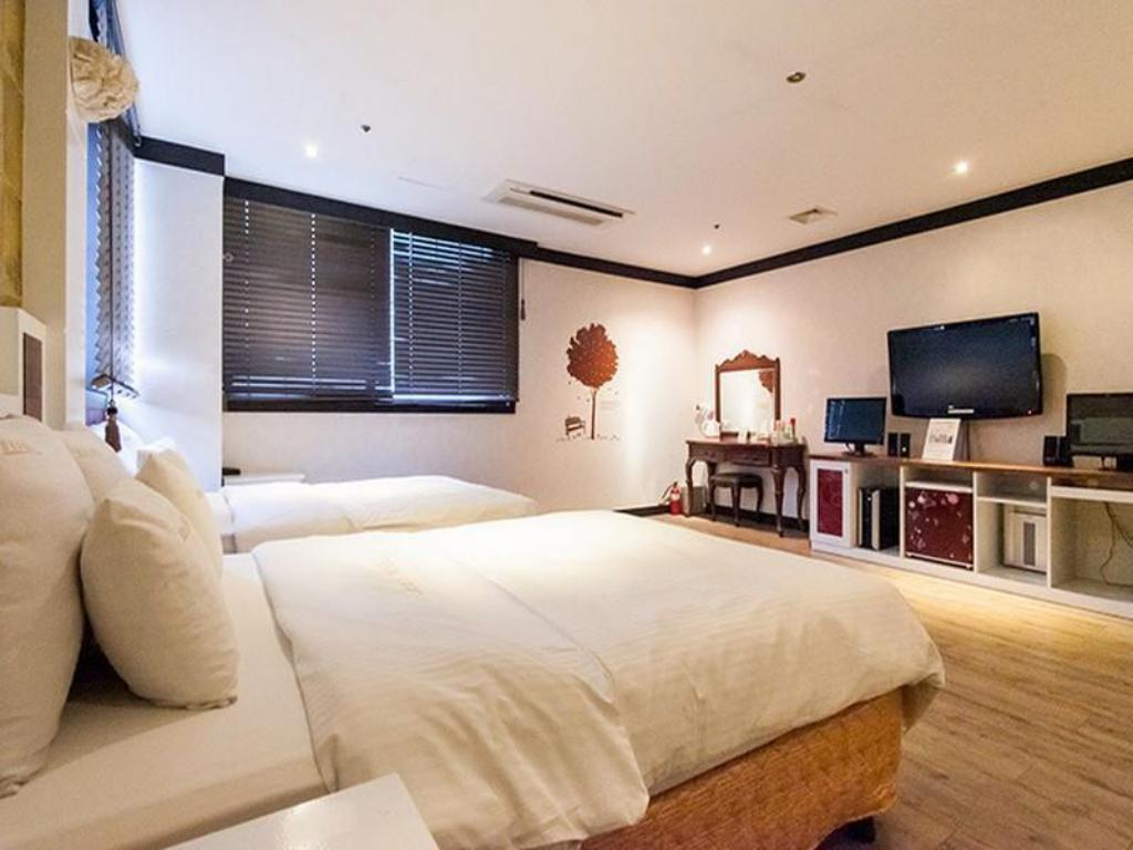 Deluxe Twin Room - Guestroom Hotel Bobos Yeongtong