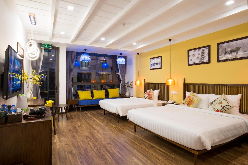 Room plan Son Trang Hotel Hoi An