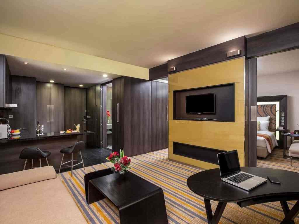 Deluxe Residences with Kitchenette & Living Room