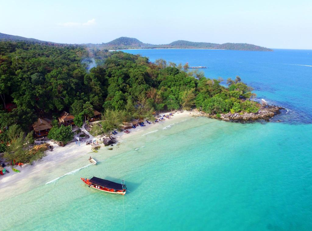 More About White Beach Bungalows At Koh Rong Island