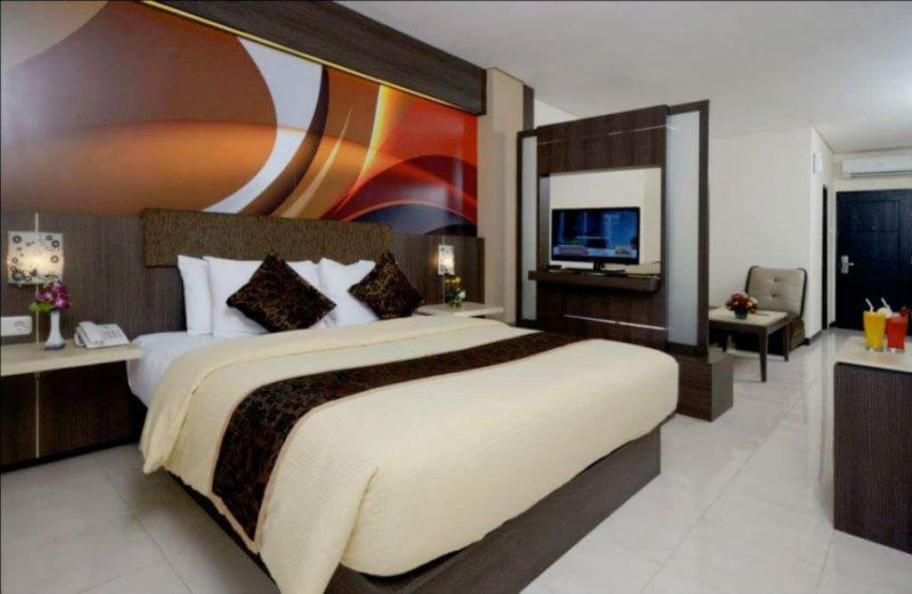 d'Arcici Suite Room - Bed