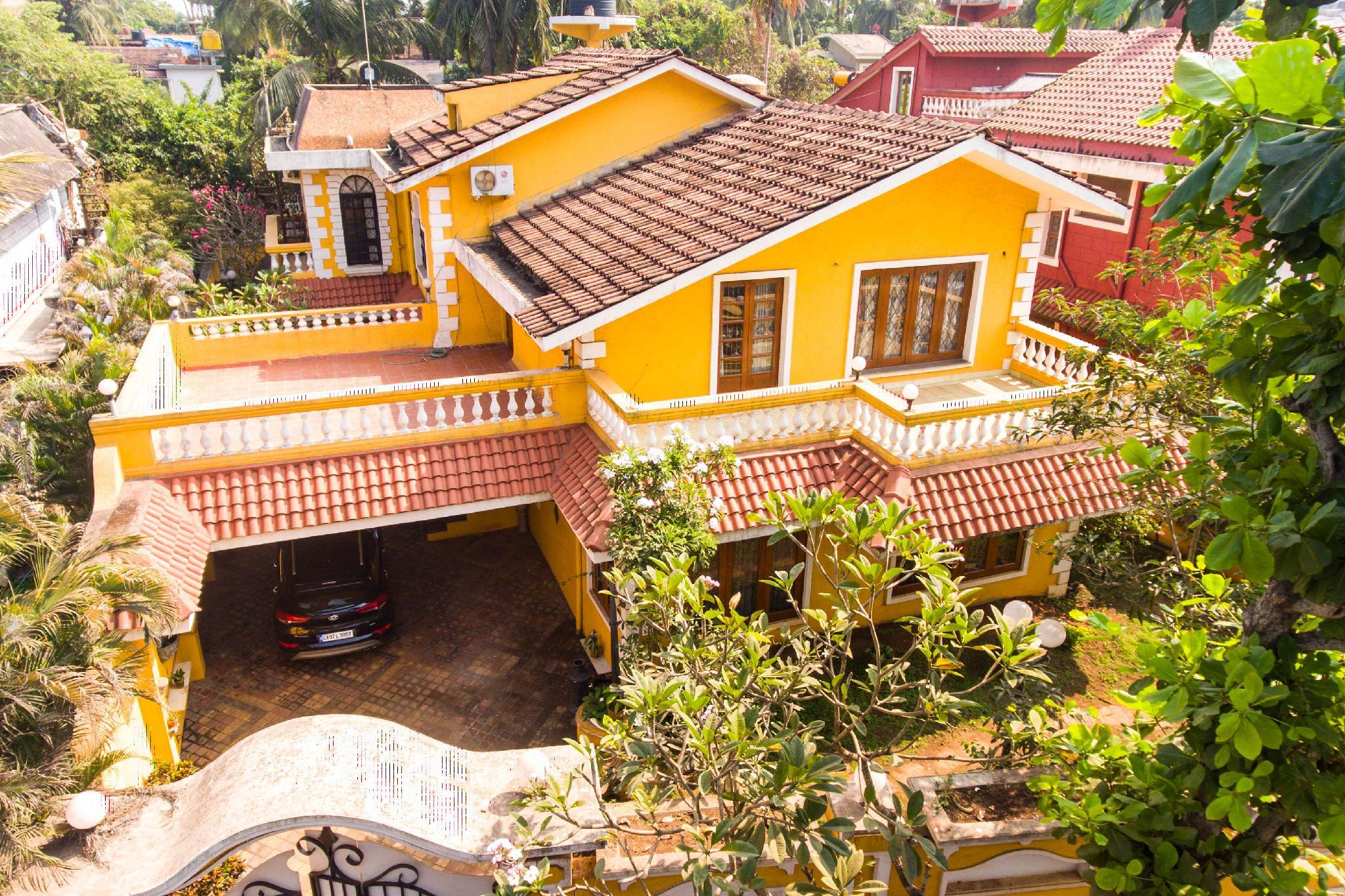 Private Villas In Portugal 4bhk portuguese style luxurious villa in north goa, india
