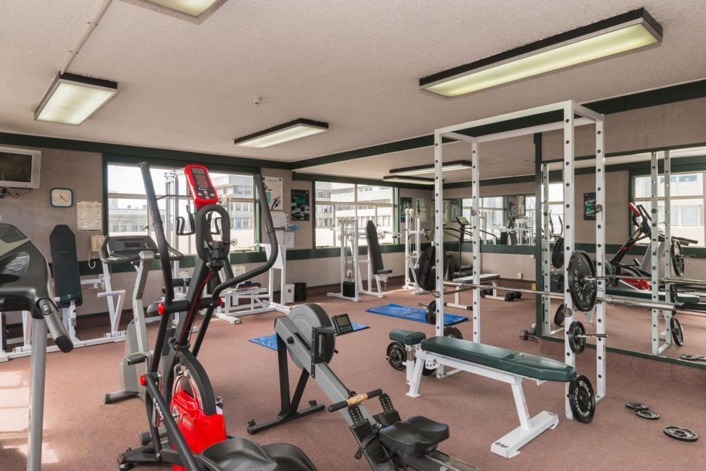 Fitness center Scenic Hotel Southern Cross